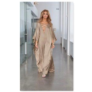 Oversize Plus Size Kaftan Beach Cover up NEW